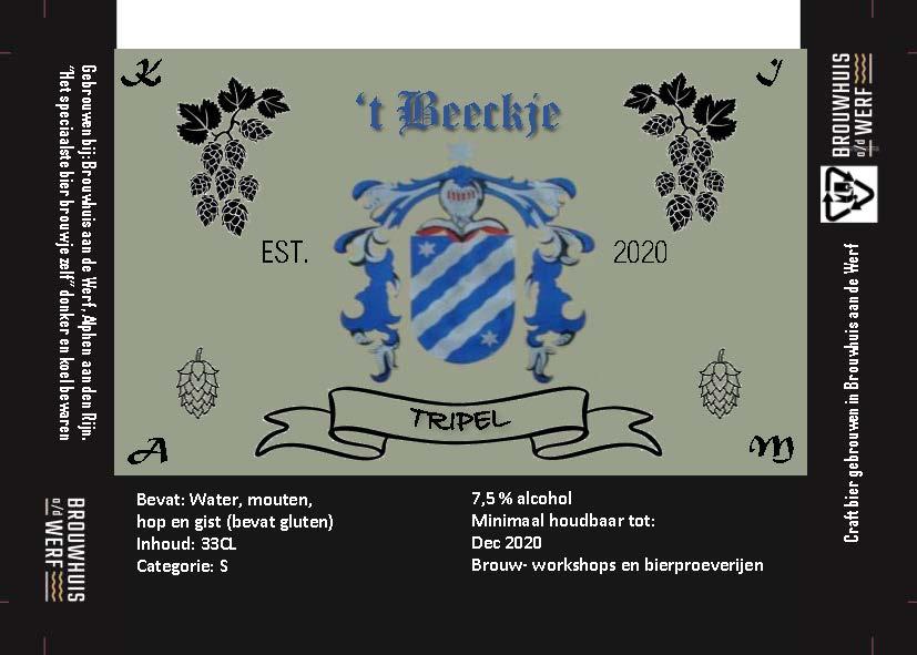 't Beeckje Tripel